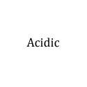acidic